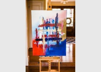4th Of July 1 | 30x40 | Christa Chain Art