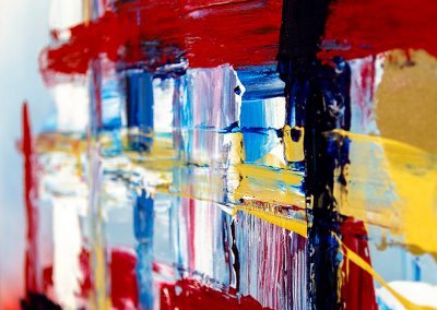 4th Of July 3 | 30x40 | Christa Chain Art