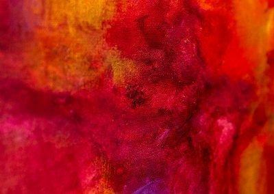 Fire 2 | 20x16 | Christa Chain Art