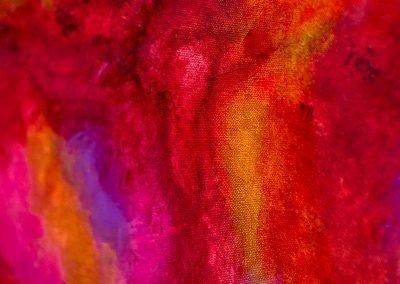 Fire 3 | 20x16 | Christa Chain Art